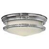 Hinkley Gemma 2 Light Flush Ceiling Light