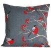Beties Berries Birds Cushion Cover