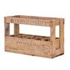 Besp-Oak Furniture 10 Bottle Tabletop Wine Rack