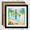Big Box Art Playgrounds of Youth by Nils von Dardel Framed Painting Print