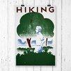 Big Box Art Vintage WPA Hiking Vintage Advertisement