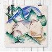 Big Box Art Poster Sheep von Franz Marc, Kunstdruck