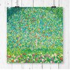 Big Box Art 'Apple Tree' by Gustav Klimt Painting Print