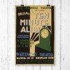 Big Box Art 'Vintage WPA Ten Minute Alibi' Vintage Advertisement