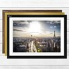Big Box Art 'Paris Sunlight Skyline' Framed Photographic Print