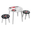 Kidsaw Speed Racer Children's 3 Piece Table and Chair Set