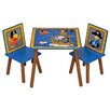 Kidsaw Pirate Children's 3 Piece Table and Chair Set