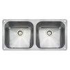 Rangemaster Sink & Taps Classic 48cm x 46cm Stainless Steel Reversible Undermount Kitchen Sink