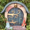 Castleton Home Round Woodland Cottage Fairy Door Elf Garden Decorative Statue