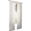 Mistana Fabian Solid Sheer Rod pocket Single Curtain Panel