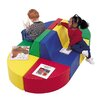 Children's Factory Primary 8 Piece Train Station Seating Group Set