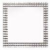 Innova Jewelled Square Glass Wall Mirror