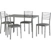 Seconique Marley Dining Table and 4 Chairs