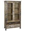 Castleton Home Solid Wood Display Cabinet