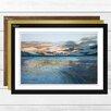 Big Box Art View from Birchwood Hill' by J.M.W. Turner Framed Painting Print