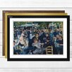 Big Box Art 'Dance at the Cabaret' by Pierre-Auguste Renoir Framed Painting Print