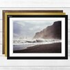 Big Box Art 'Seascape Sandy Beach Scene (1)' Framed Photographic Print