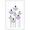 Marmont Hill 'Bowl Flowers' by Katarina Snygg Framed Graphic Art
