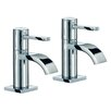 Mayfair Brassware Wave Countertop Basin Mixer (Set of 2)