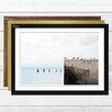 Big Box Art Seagulls Seascape Framed Photographic Print
