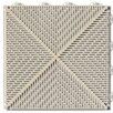 "Mats Inc. Bergo Soft Antimicrobial Polyethylene 14.96"" x 14.96"" Loose Lay/Interlocking Deck Tiles in Sand (Set of 6)"