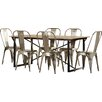 Borough Wharf Bundyhill Dining Table and 6 Chairs
