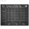 Ready2hangart Dry Erase Monthly Calendar Memo Board