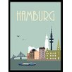 HoeiDenmark 'Hamburg' Framed Graphic Art
