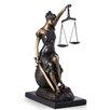 Bey-Berk Seated Lady Justice Figurine
