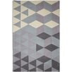 Plantation Rug Cluster Hand-Tufted Grey/Purple Area Rug