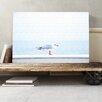 Big Box Art Resting Seagull Bird Seascape Photographic Print on Canvas