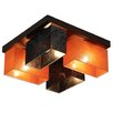 Wero Design Vitoria 4 Light Semi Flush Mount