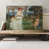 Big Box Art 'The Field of Spring' by John William Waterhouse Painting Print on Canvas