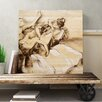 Big Box Art 'Dancers Drawing' by Edgar Degas Painting Print on Canvas