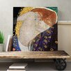 Big Box Art Danae' by Gustav Klimt Painting Print on Canvas