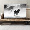 Big Box Art Wild Running Horses Photographic Print on Canvas