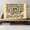 """Big Box Art Leinwandbild """"Encyclopedia Vintage Butterflies and Insects"""", Grafikdruck"""