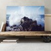 Big Box Art Seascape Wave Against the Rock Photographic Print on Canvas
