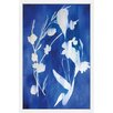 """Marmont Hill """"Cyanotype"""" by Christine Lindstrom Framed Painting Print"""