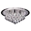 Endon Lighting 6 Light Flush Mount