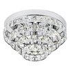 Endon Lighting 4 Light Crystal Chandelier
