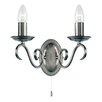 Endon Lighting Futur 2 Light Candle Wall Light