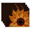 August Grove Essonne El Girasol Feliz Floral Print Placemat