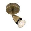 Saxby Lighting Amalfi 1 Light Ceiling Spotlight