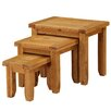 Heartlands Furniture Acorn 3 Piece Nest of Tables