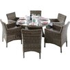 Rowlinson Richmond 6 Seater Dining Set with Cushions