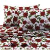 Tribeca Living Christmas Joy 100% Cotton Sheet Set