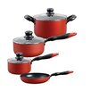 Sunbeam Andreo 7 Piece Non Stick Cookware Set