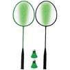 Franklin Sports 2 Player Badminton LED Racket