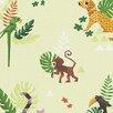 EspritHome Jungle Party 10.05m L x 53cm W Roll Wallpaper
